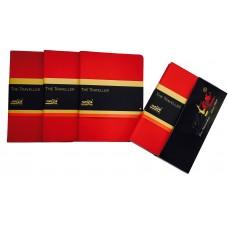 THE TRAVELLER FELT COLLECTION (SCARLET RED) (CASE OF 3)