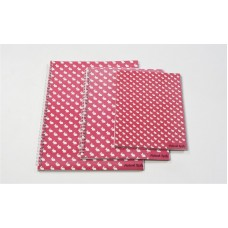 IKAT CIRCLES SIZE PINK (SET OF 3)