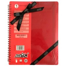 SINGLE SUBJECT BOOK (RED) CORPORATE GIFT PACK