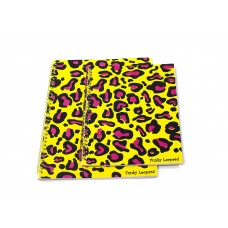 FUNKY LEOPARD - YELLOW (SET OF 2 TWIN PACK)