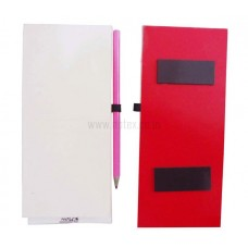 MAGNETIC DIARY - RED COLOR BACK BOARD
