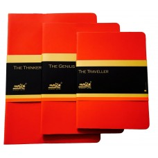 THE THINKER FELT COLLECTION (SCARLET RED) (CASE OF 3)